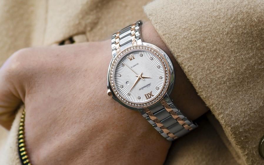 Męski złoty zegarek